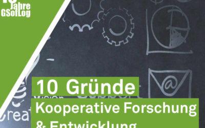 DieZehn: 10 Gründe für kooperative Forschung & Entwicklung