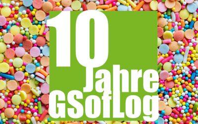 10 Jahre GSofLog – 28.09.2019 unser Geburtstag