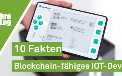 DieZehn: 10 Fakten Blockchain-fähiges IOT-Device