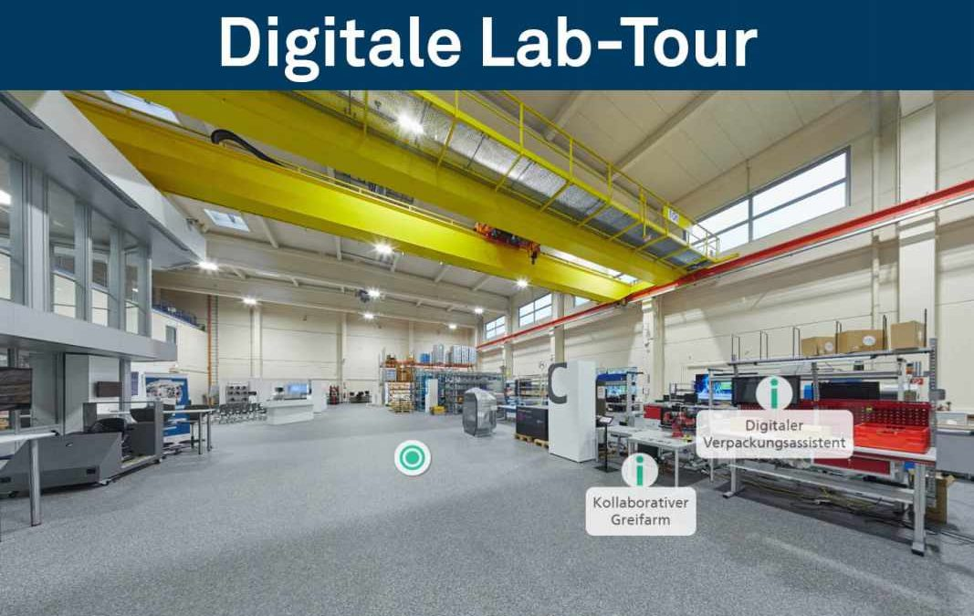 Digitale Lab-Tour ist online