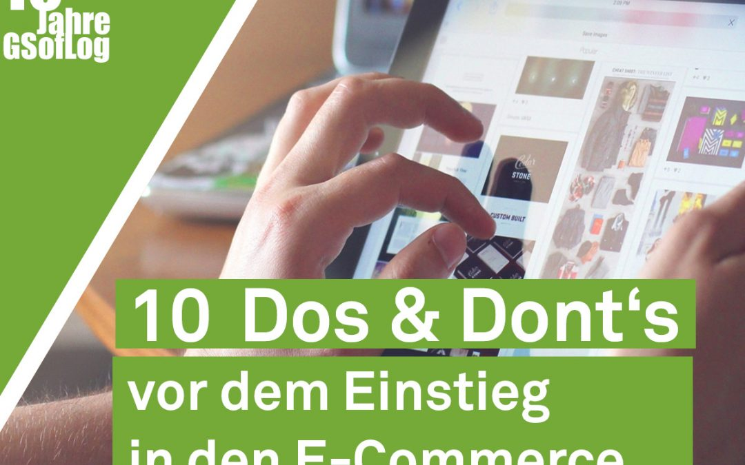 DieZehn: 10 Dos and Don'ts vor dem Einstieg in den E-Commerce