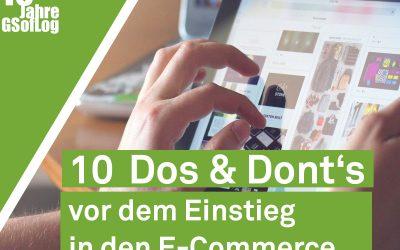 DieZehn: 10 Dos and Don'ts vor dem Einstieg in den E-Commerce