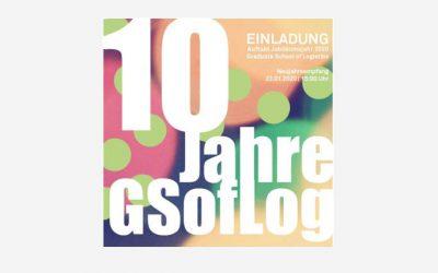 Einladung: 23.01.2020 Neujahrsempfang der GSofLog