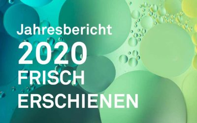 Jahresbericht 2020 frisch erschienen