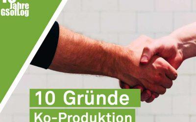 DieZehn: Gründe für die Ko-Produktion industrieller Dienstleistungen