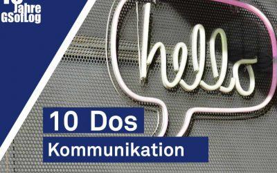 DieZehn: 10 Dos – Kommunikation für wissenschaftliche Projekte