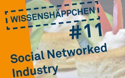 Wissenshäppchen #11: Social Networked Industry