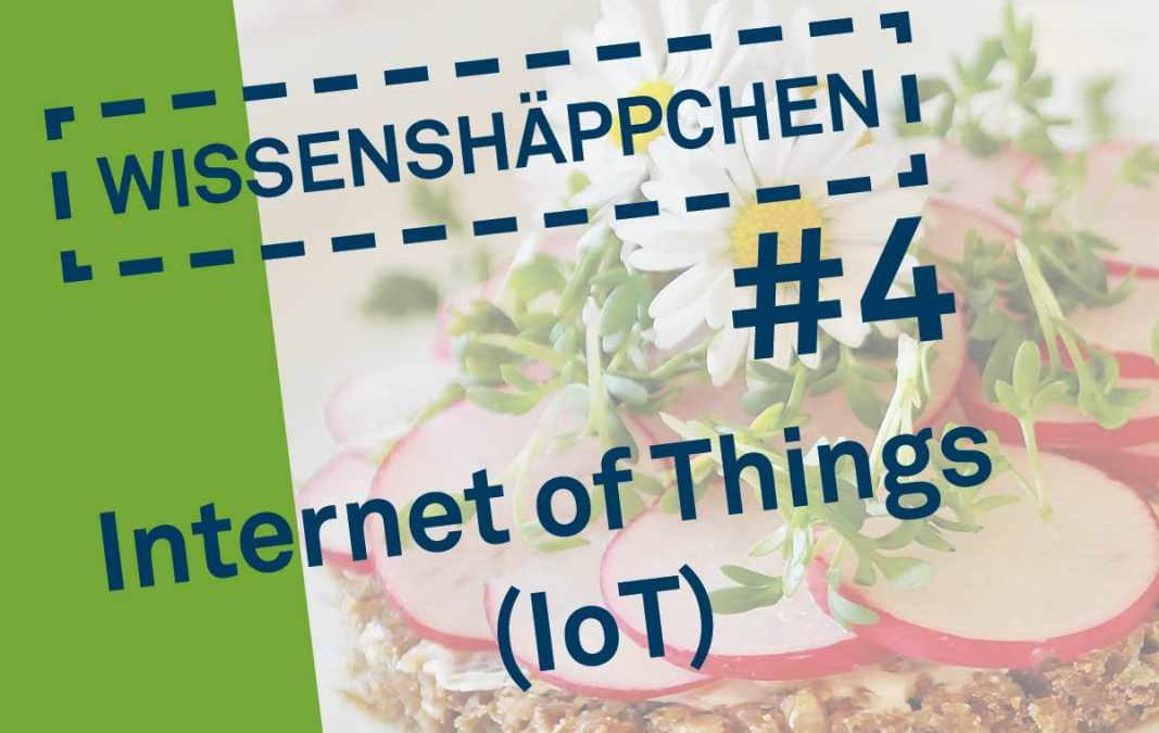 Wissenshäppchen #4: Internet of Things (IoT)