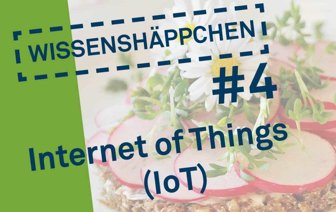 Wissenshäppchen #4: Internet of Things (IoT)